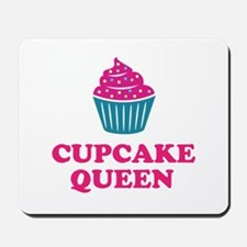 Cupcake baking queen Mousepad