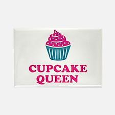 Cupcake Baking Queen Kitchen Fridge Magnets
