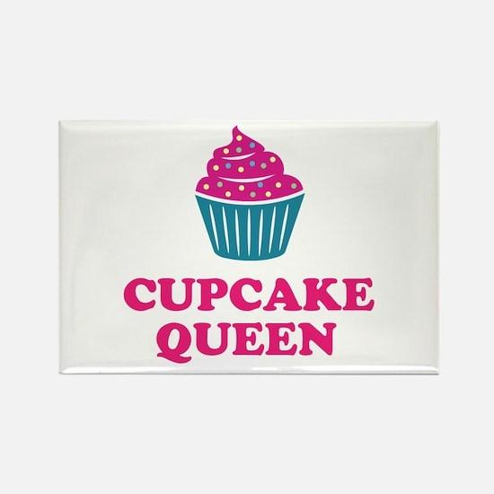 Cupcake baking queen Magnets