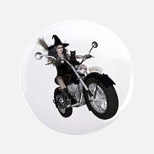"Witchy One ~ Speedy 3.5"" Button"