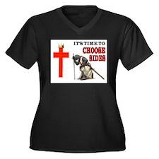 CRUSADERS PRAYER Plus Size T-Shirt