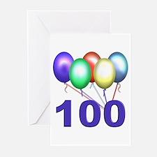 100th Birthday Party Invitations (Pk of 10)