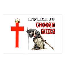 Crusaders Prayer Postcards (package Of 8)
