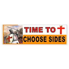 Crusaders Prayer Bumper Car Sticker