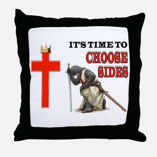 CRUSADERS PRAYER Throw Pillow