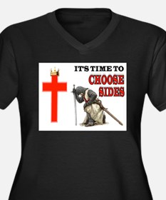 CRUSADERS PRAYER Plus Size T-Shirt