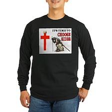CRUSADERS PRAYER Long Sleeve T-Shirt