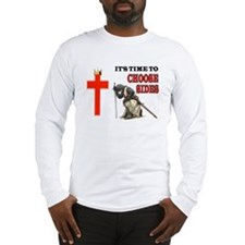 CRUSADERS PRAYER Long Sleeve T-Shirt
