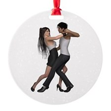 Dancers ~ Argentine Tango 3 Ornament