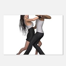 Dancers ~ Argentine Tango Postcards (Package of 8)