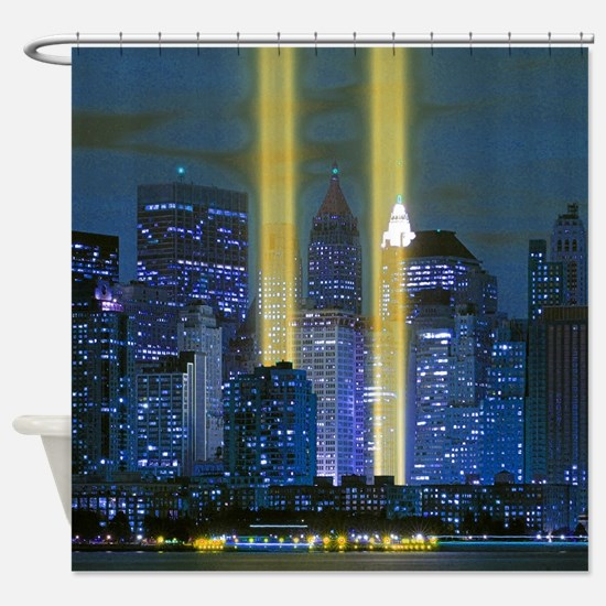 Funny New york Shower Curtain