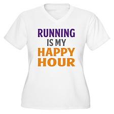 Running Is My Hap T-Shirt