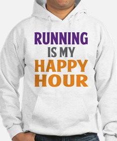 Running Is My Happy Hour Hoodie