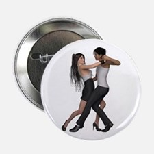 "Dancers ~ Argentine Tango 3 2.25"" Button (10 pack)"
