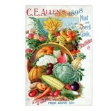 Watermelon seed packet Postcards