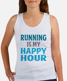 Running Is My Happy Hour Women's Tank Top