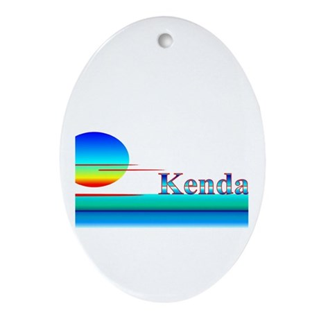 Kendall Oval Ornament