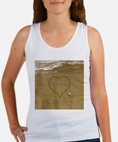 Vanessa Beach Love Women's Tank Top