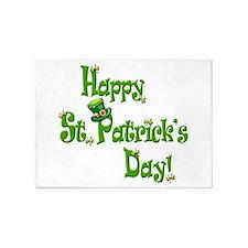 Happy St. Patricks Day! 5'x7'Area Rug