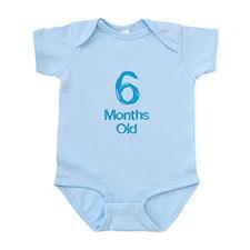 6 Months Old Baby Milestones Body Suit