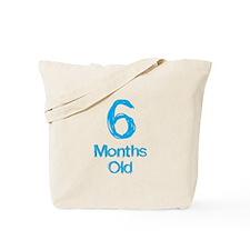 6 Months Old Baby Milestones Tote Bag