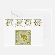 FROG Design Greeting Card