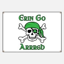 Irish Pirate - Erin Go Arrrgh Banner