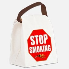 Stop Smoking Canvas Lunch Bag