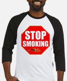 Stop Smoking Baseball Jersey
