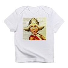 Dutch Girl Painted On Wood Infant T-Shirt