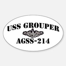 USS GROUPER Decal