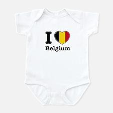 I love Belgium Infant Bodysuit