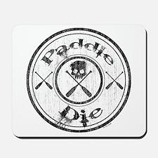 Paddle Oar Die (circle) Mousepad