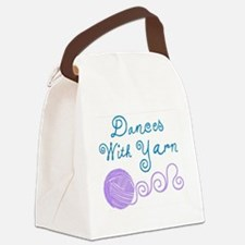 Funny Yarnaholic Canvas Lunch Bag