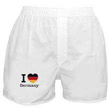 I love Germany Boxer Shorts