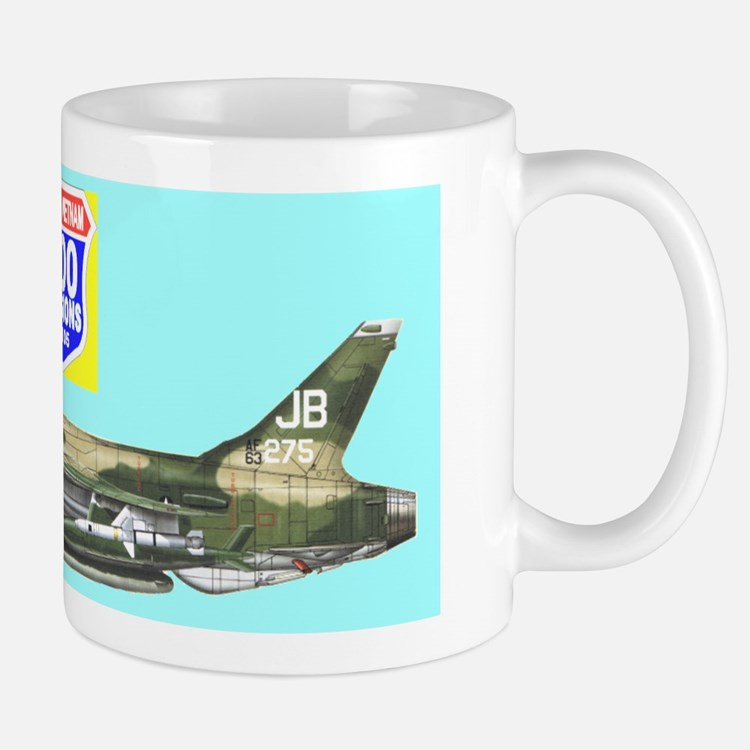 Cute F 105 thunderchief Mug