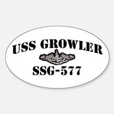 USS GROWLER Decal