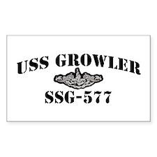 USS GROWLER Decal
