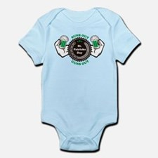 Suns Out Guns Out St. Patricks Day Infant Bodysuit