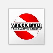 Wreck Diver (rd) Sticker