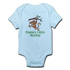 Pepere's Little Monkey Body Suit