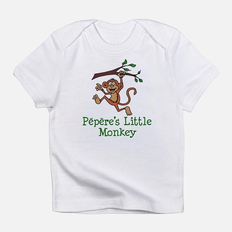Pepere's Little Monkey Infant T-Shirt
