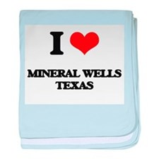 I love Mineral Wells Texas baby blanket