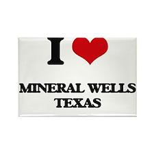 I love Mineral Wells Texas Magnets