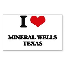 I love Mineral Wells Texas Decal
