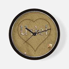 Uriel Beach Love Wall Clock