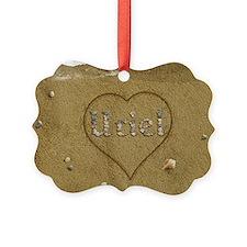 Uriel Beach Love Ornament