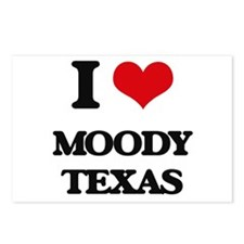 I love Moody Texas Postcards (Package of 8)