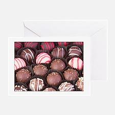 Chocolate Truffles Greeting Cards