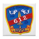 USS GUARDFISH Tile Coaster